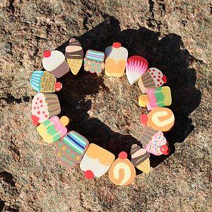 Childrens Cake Bracelet - bracelets