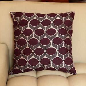 Pondicherry Flower Silk Cushion Cover - home sale