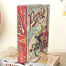 Lady's Book Storage Tin