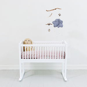Scandinavian Cradle - baby's room