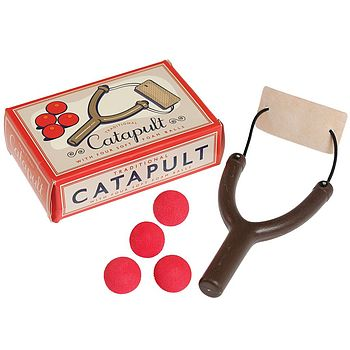 Toy Catapult With Foam Balls