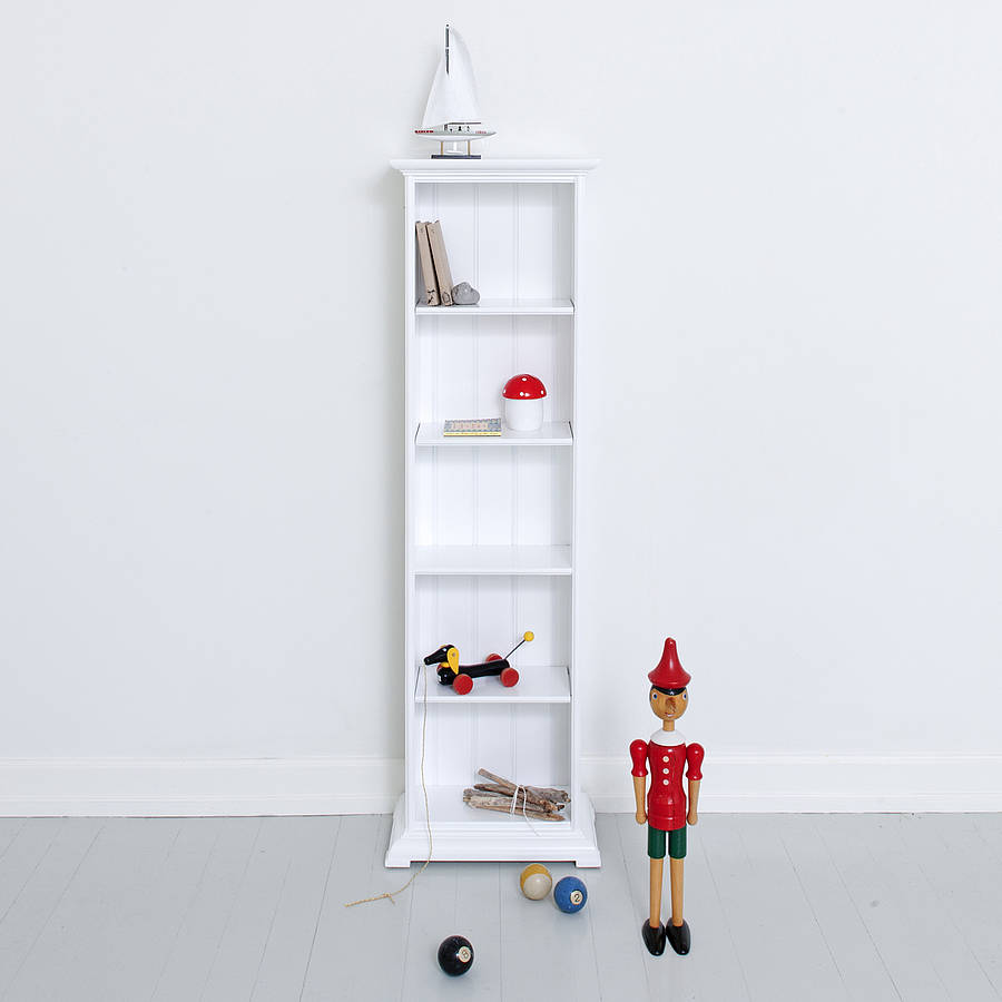 Scandinavian Slim Bookcase