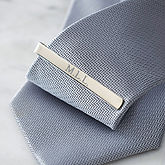 Silver Tie Clip - gifts for him