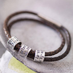 Personalised Storyteller Bracelet Or Necklace - gifts for him