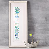 The Shipping Forecast Print 51cm - express gifts