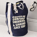 Personalised Sports Or Beach Duffle Bag
