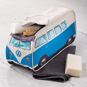 Vw Campervan Wash Bag - for young men