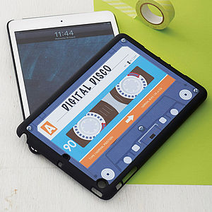 Cassette Tape Case For iPad Mini - tech accessories for her