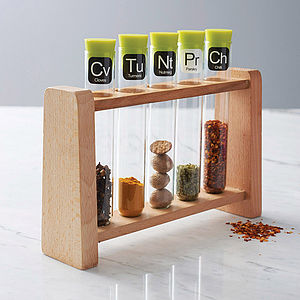 Scientific Spice Rack - kitchen