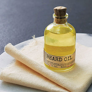 Beard Oil And Face Rag Set - view all gifts for him