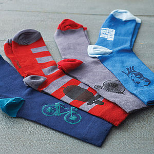 Set Of Three Bamboo Socks - gifts under £25