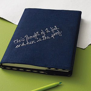 Personalised Men's Notebook - from the little ones