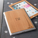 Wooden Skin Case For iPad