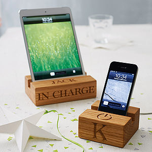 Personalised Stand For iPhone Or iPad - gifts for him