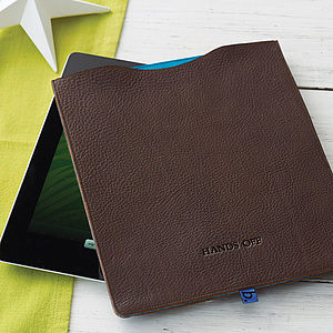 Leather Sleeve For iPad - gifts for gadget-lovers