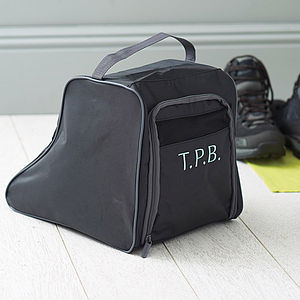 Personalised Hiking Boot Bag - laundry room