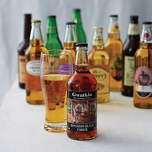Case Of 12 British Premium Ciders - gifts for him