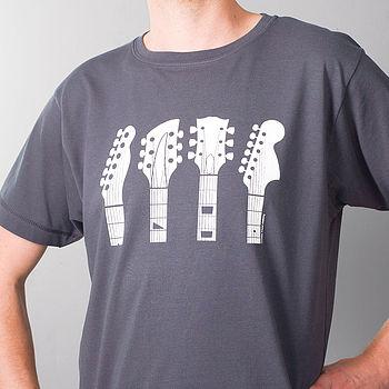 Guitar Headstocks T Shirt