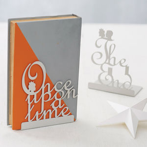 Pair Of Fairytale Bookends - baby's room
