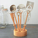 Wild Flower Utensil Set