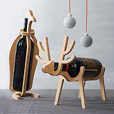 Penguin Or Reindeer Wine Rack - gifts for him