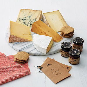 Best Of British Gourmet Cheese Box - for foodies