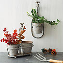 Iron Spout Garden Hanging Pot