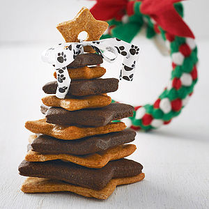 Canine Cookie Tree And Wreath Toy - food, feeding & treats