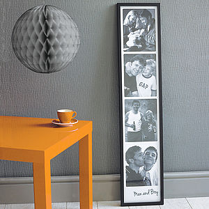 Personalised Giant Photo Booth Print - gifts for fathers