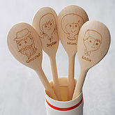 Personalised Wooden Spoon - gifts