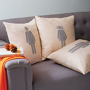 Personalised Family Member Cushion
