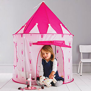 Princess Castle Play Tent - for over 5's