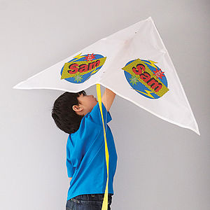 Personalised Kite - games