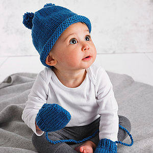 Winter Warming Hat And Mitten Set - for babies
