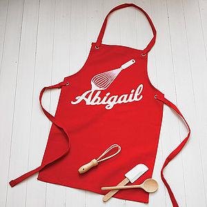 Personalised Child's Apron - inspired christmas gifts