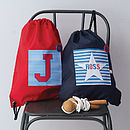 Boys Personalised Waterproof Kit Bag