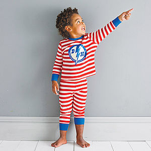 Personalised Superhero Pyjamas - for under 5's