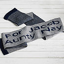Personalised Child's Scarf