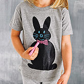 Chalk And Tees Chalkboard T Shirt - easter
