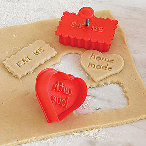 Stamp Cookie Cutter - gifts for children