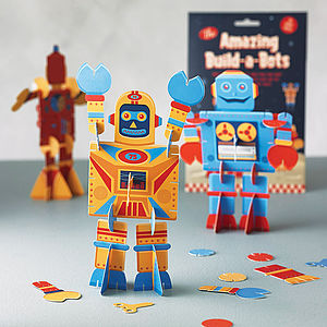 Build Your Own Robot Kit - craft & creative gifts for children