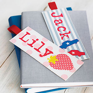 Personalised Child's Bookmark - children's room accessories