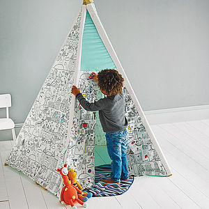 Colour Your Own Teepee - outdoor toys & games