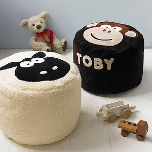 Personalised Character Bean Bag - children's room