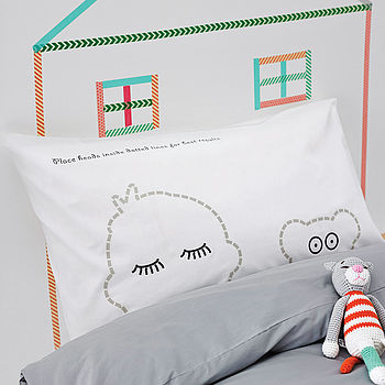 Sleepy Head Pillowcase