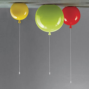 Memory Balloon Ceiling Light - children's room accessories