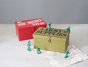 Top Secret Storage Box - children's storage