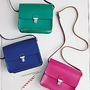Colour Pop Mini Bag - Electric Blue, Ultra Violet and Absynth