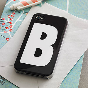 Initial Case For iPhone - gifts for teenagers
