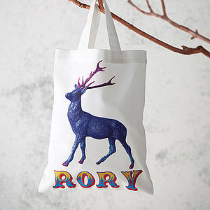 Personalised Christmas Gift Bag - baby & child